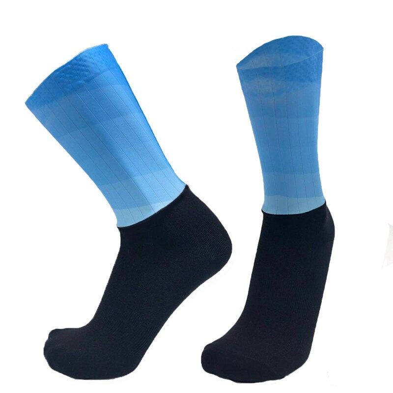 Gradient Color Anti-slip Compression Socks